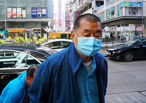 Demokratia-aktivisti Jimmy Lai ei päässyt vapaaksi takuita vastaan. Hän on kertonut olevansa valmis menemään vankilaan.