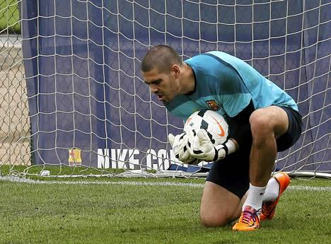 Victor Valdes on sivussa myös kesän MM-kisoista.