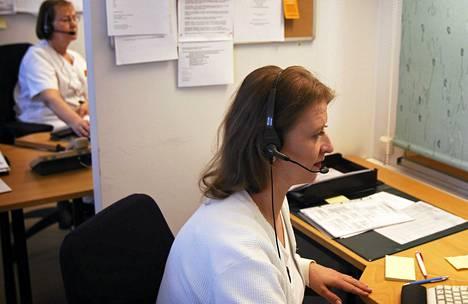 Suutarilan terveysaseman puhelinvaihde.