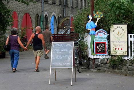 Christianian vapaakaupunki Kööpenhaminassa vetää huumeturisteja.