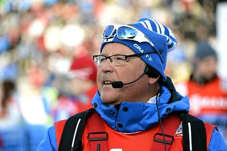 Norjalainen Magnar Dalen on valmentanut hiihtomaajoukkuetta jo kahdeksan vuotta.