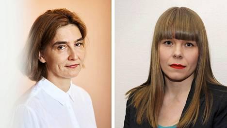 Anu Kantola ja Hanna Kuusela