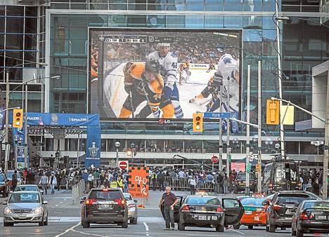 MM-turnauksen voittaja ratkeaa Toronton Air Canada Centerissä.