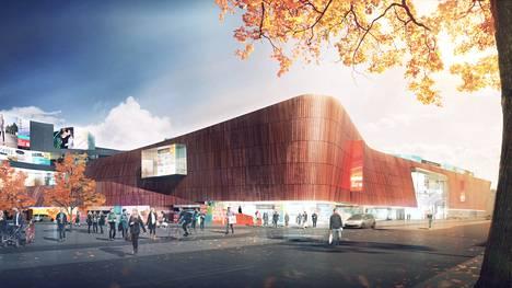 Kesko rakentaa Helsingin Itäkeskukseen uuden kauppakeskuksen. Nykyisen K-Citymarketin alueelle rakennettavan keskuksen ensimmäinen vaihe valmistuu vuoden 2017 lopussa. Uusi kauppakeskus Keskon havainnekuvassa.