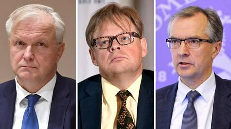 Olli Rehn (vas.), Juhana Vartiainen ja Pentti Hakkarainen