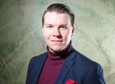 Sdp:n eurovaaliehdokas Mikkel Näkkäläjärvi.