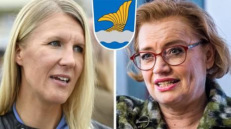 Sari Multala ja Ritva Viljanen.