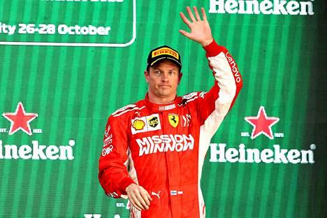 Kimi Räikkönen on villinnyt faneja jo vuosien ajan.