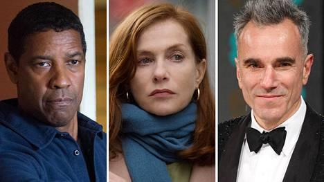 Denzel Washington, Isabelle Huppert ja Daniel Day-Lewis ovat The New York Timesin listan mukaan 2000-luvun parhaat elokuvanäyttelijät.