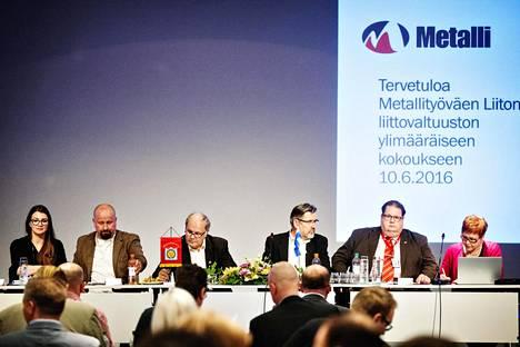 Metalliliiton valtuusto hyväksyi kilpailukykysopimuksen.