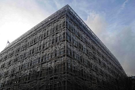 Ranskan kulttuuriministeriön rakennus Pariisin keskustassa.