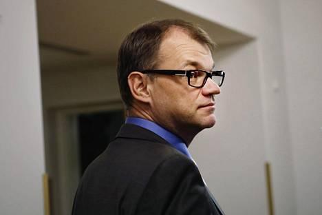 Pääministeri Juha Sipilä (kesk)