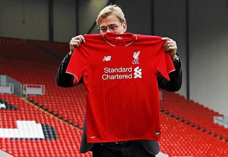 Liverpoolin uusi manageri Jürgen Klopp.