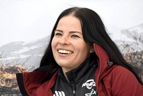 Krista Pärmäkoski lokakuussa 2019.