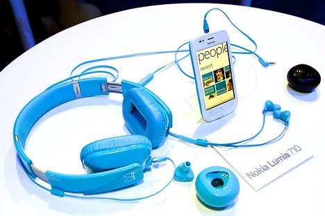 Nokia esitteli uuden Lumia puhelimensa Lontoossa lokakuun lopussa.