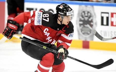 Sidney Crosby metsästää ensimmäistä aikuisten maailmanmestaruutta.