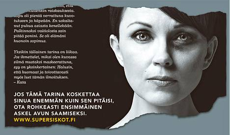 Kampanjailmoitus julkaistiin tiistain Helsingin Sanomissa.