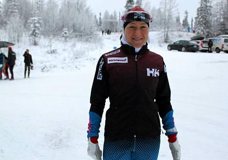 Aino-Kaisa Saarinen ei kilpaile Rovaniemellä.