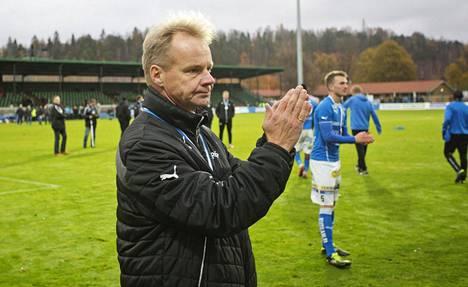 Juha Malinen oli viime kauden päätöskierroksella vakavana hopeamitaleista huolimatta.