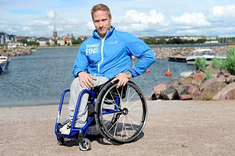 Leo-Pekka Tähti lähtee puolustamaan Rioon Lontoon paralympiakultaa.