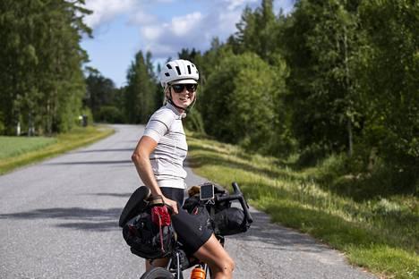 14. heinäkuuta Palosaari lähti Rääkkylästä Liperin ja Joensuun kautta Kolille Lieksaan. Lisäksi Palosaari pääsee vielä ajamaan läpi Lapin, josta jäljellä on vielä pyöräily takaisin kotiseudulle.