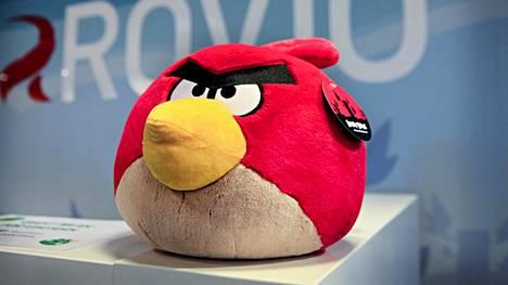 Angry Birds -hahmoista on tehty muun muassa pehmoleluja.