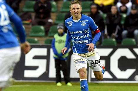 Antti Okkonen on RoPS:n avainpelaajia.