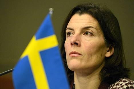 Ruotsin puolustusministeri Karin Enström.