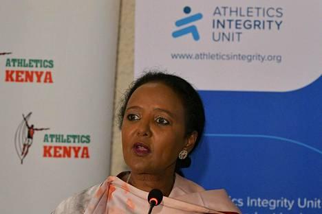 Kenian urheiluministeri Amina Mohamed kertoi tiistaina maan valmistelevan lakia, joka kriminalisoi dopingin käytön.