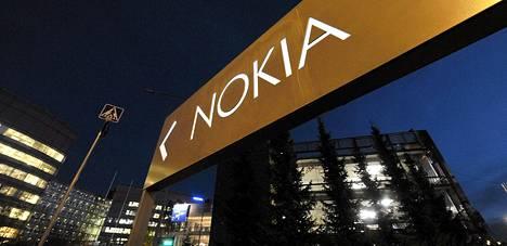 Matkapuhelinvalmistaja Nokian pääkonttori Espoon Keilaniemessä.