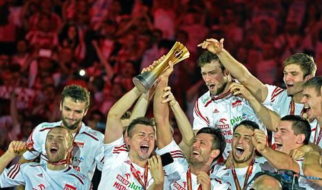 Puola on lentopallon maailmanmestari vuonna 2014.