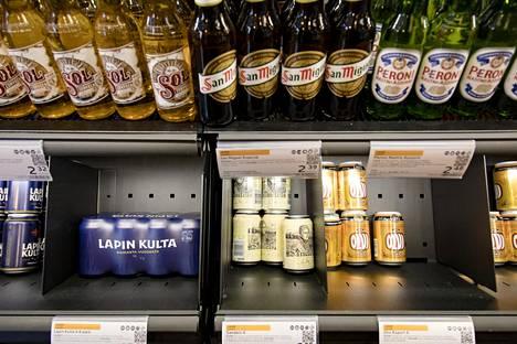 Suomen uusi alkoholilaki toisi vahvat oluet kauppojen hyllyille.