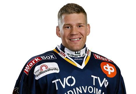 Puolustaja Antti Jaatinen aloitti kautensa Lukossa.