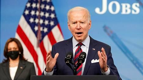 Presidentti Joe Biden vauhdittaa talouspolitikan uudistumista Yhdysvalloissa.
