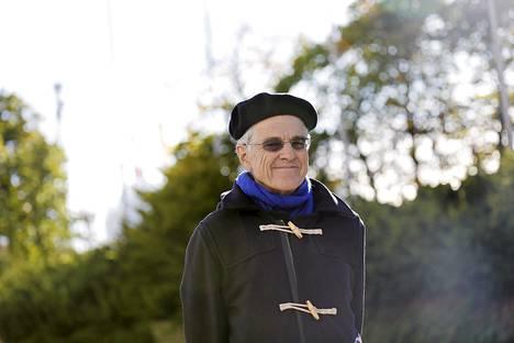 Newcastlen yliopiston professori Bill Mitchell Helsingissä keskiviikkona.