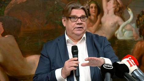 Entinen perussuomalaisten puheenjohtaja Timo Soini kertoi Populismi -kirjastaan tammikuussa Helsingissä.