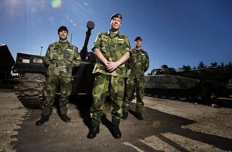 Gustaf af Petersens, Mattias Ardin ja Stefan Pettersson kuuluvat Gotlantiin palanneisiin joukkoihin.