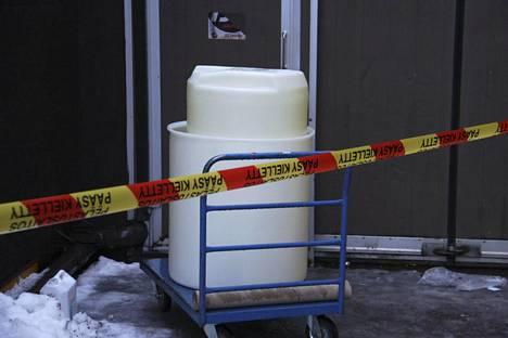 Astia, jossa väärät aineet sekoittuivat Tikkurilan terveysasemalla.