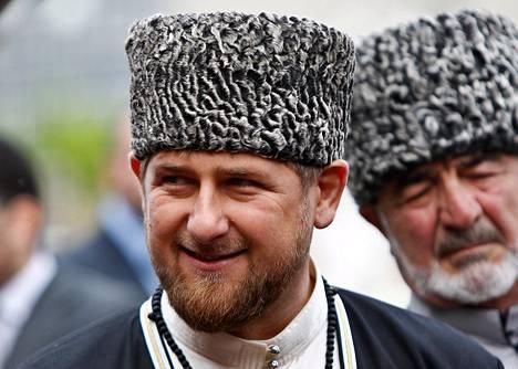 Ramzan Kadyrov osallistui tšetšeenin kielen kunniaksi järjestettyyn tapahtumaan Groznyissa keväällä 2013.