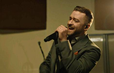 Justin Timberlake performed in Memphis.