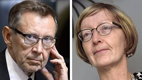Jaakko Jonkka ja Jaana Vuorio
