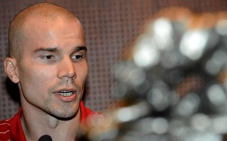 Tuukka Kotti palasi Suomeen pelaamaan europelejä.