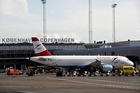 Kastrupin lentokenttä Kööpenhaminassa.