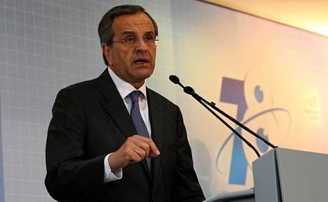 Kreikan pääministeri Antonis Samaras