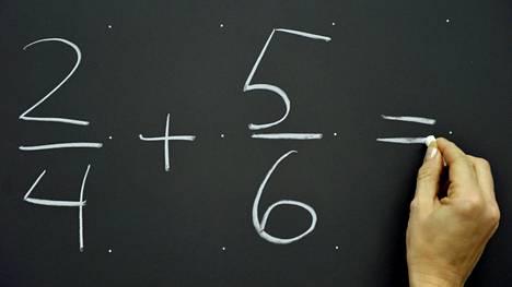 Muun muassa matematiikan osaamisessa on havaittavissa selviä eroja pääkaupunkiseudun ja muun Suomen välillä.