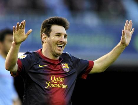 Lionel Messi teki jälleen jalkapallohistoriaa.