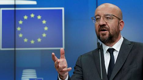Eurooppa-neuvoston puheenjohtaja Charles Michel