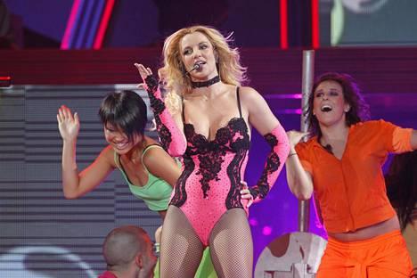 Britney Spears konsertoi Helsingin Hartwall-areenalla 14. lokakuuta 2011.