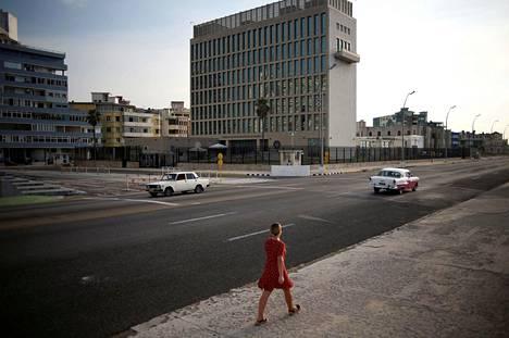 Yhdysvaltain Kuuban-lähetystö Havannassa.