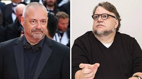 Elokuvaohjaaja Jean-Pierre Genet (vas.) syyttää Guillermo del Toroa elokuviensa plagioinnista.